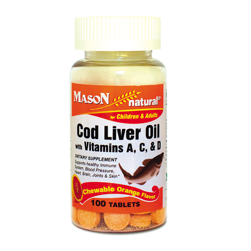 Aceite de higado de bacalao Mason vitamins