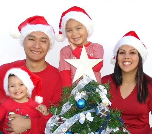 navidad familia